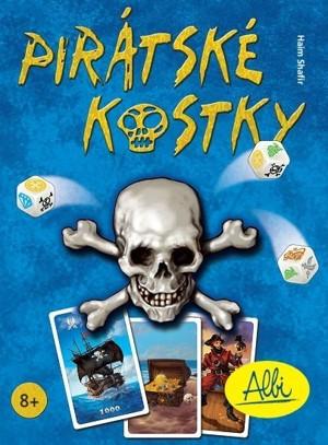 Image of Karetní hra - PIRÁTSKÉ KOSTKY ALBI