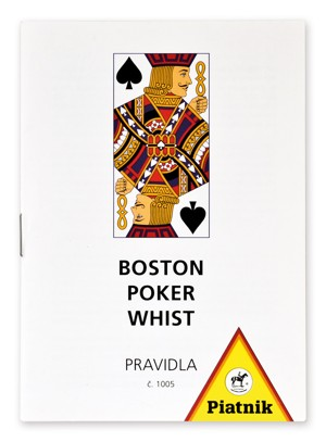 Pravidla her Boston, Poker, Whist